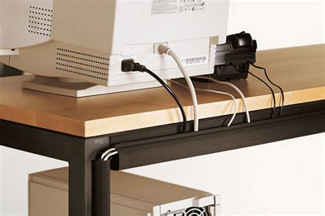 Office Desk Cable Management Cord Management Straps Contemporary Cable Management By Room Board