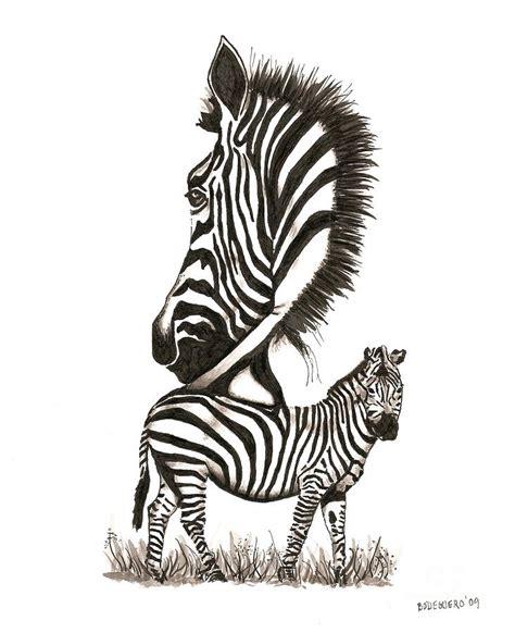 zebra tattoo pen zebra black and white drawing