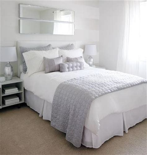 of interiors grey and white bedroom