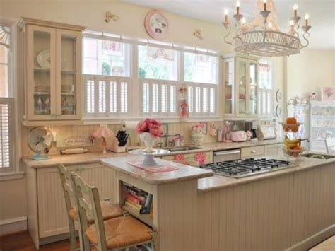 shabby chic kitchens shabby chic kitchen cabinets marceladick