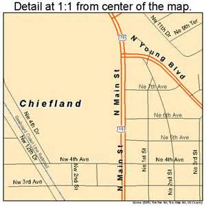 chiefland florida map 1211925