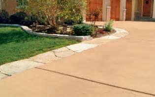 valspar solid color concrete sealer dress up driveways with color