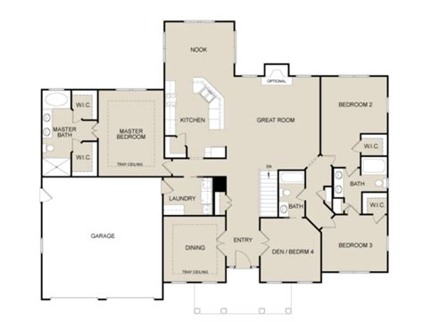 floor plan with perspective house green goose homes floor plans