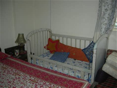 Second Baby Furniture by Wooden Baby Cot Crib For Sale Second Chandigarh