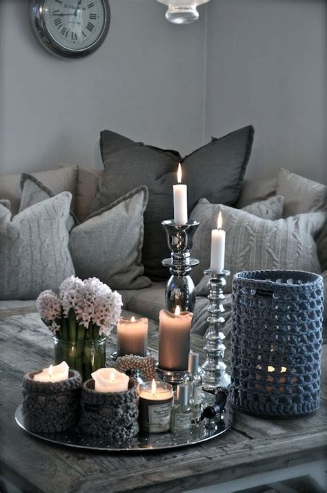 decoration pieces for home winter decor trend 34 stylish silver accessories and