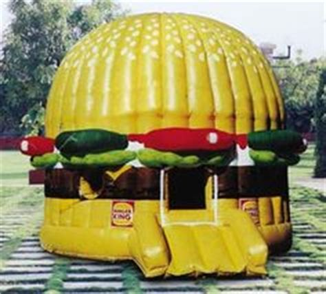 Hamburger House by 1000 Images About Bouncy Houses On Bouncy