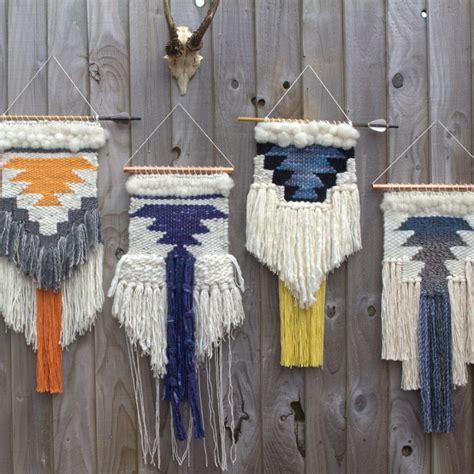 Wall Hangings - bohemian woven wall hangings homegirl