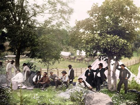 pictures in color the civil war in color 28 stunning colorized photos that
