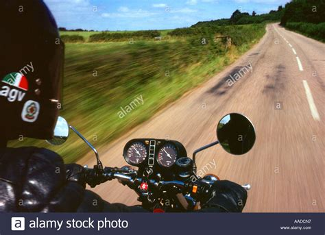 Motorrad Sozius Ohne Helm by Black Leather Jacket Harley Davidson Stockfotos Black