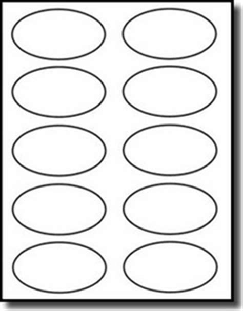 oval label templates discontinued 1 000 oval labels 3 25 x 2 laser only matte