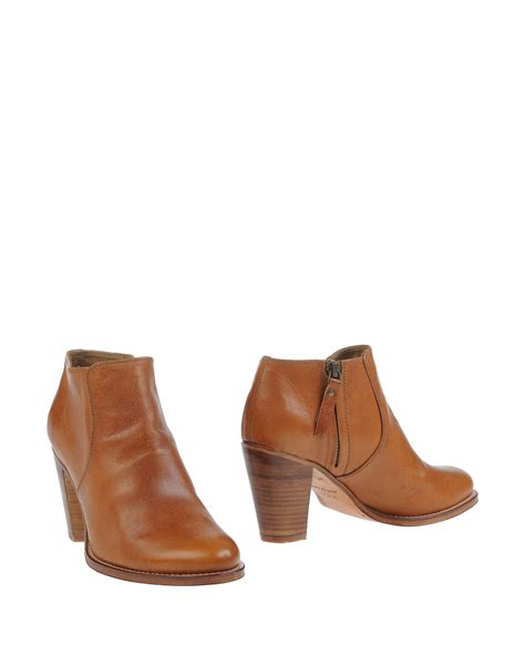 ndc shoes lyst n d c made by shoe boots in brown