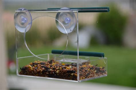bird feeder that attaches to window unique bird feeder
