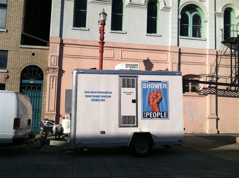 Truck Shower by Mobile Shower Service For Homeless Seeks New Base