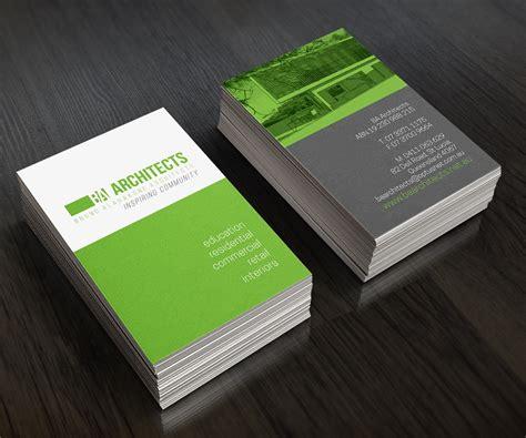 Architect Card Design