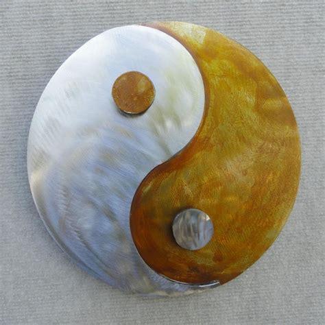 Yin Yang Metal Wall