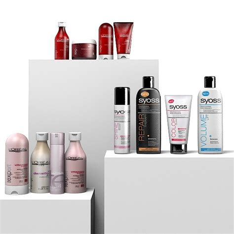 the fantastic hairdresser hair products beauty products 3d model barber s hairdresser