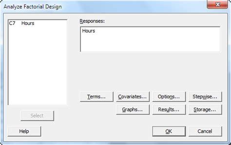 experiment design with minitab designing an experiment minitab