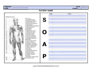 this soap note page is ideal for health care professionals
