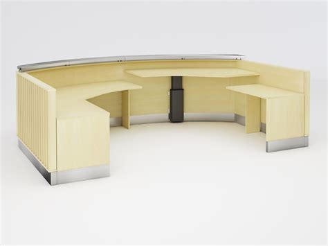 Contemporary Reception Desk 90 Degrees Office Berkley Contemporary Reception Desk 90 Degree Office Concepts