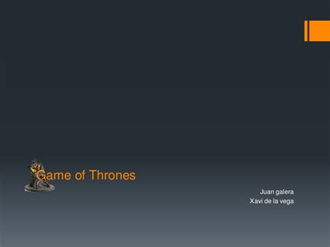 powerpoint themes slideshare game of thrones presentation