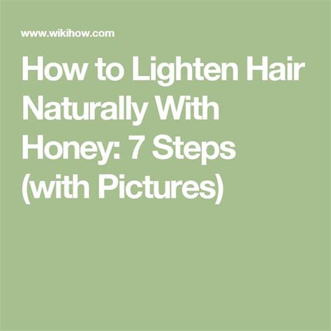 how to lighten your hair with cinnamon 6 steps wikihow best 25 lighten hair naturally ideas on pinterest hair