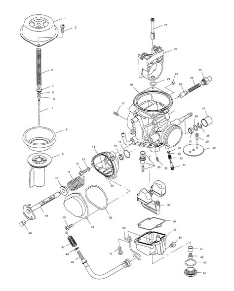 polaris predator 500 carburetor diagram carb has been cut hacksawed salvageable polaris atv forum