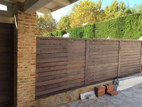 vallas de jardin de madera vallas de madera jardin free top imagen enviada with