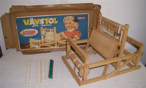 table top weaving loom by brio sweden vavstol by willobea