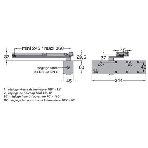 groom gr300 ferme porte avec bras standard 2 6