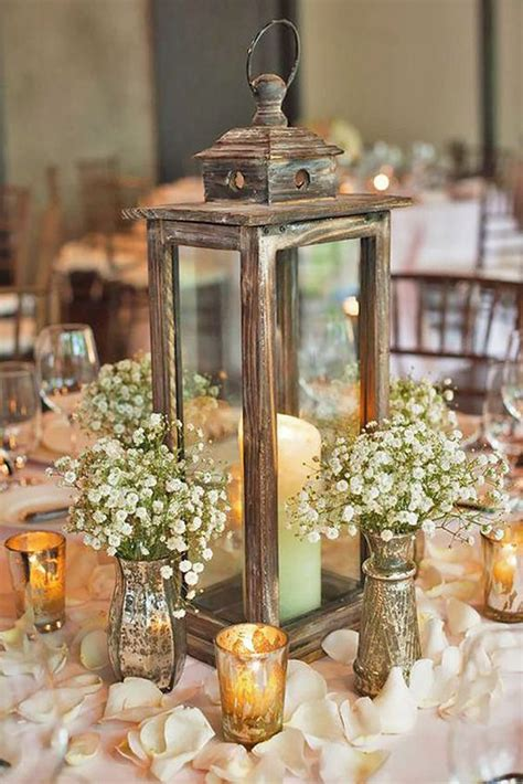 rustic vintage wedding centerpieces best 25 lantern table centerpieces ideas on