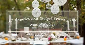 wedding ideas on a tight budget
