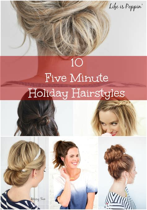 five minute hairstyles for goths 5 minute girl hairstyles hairstyles you can do in less