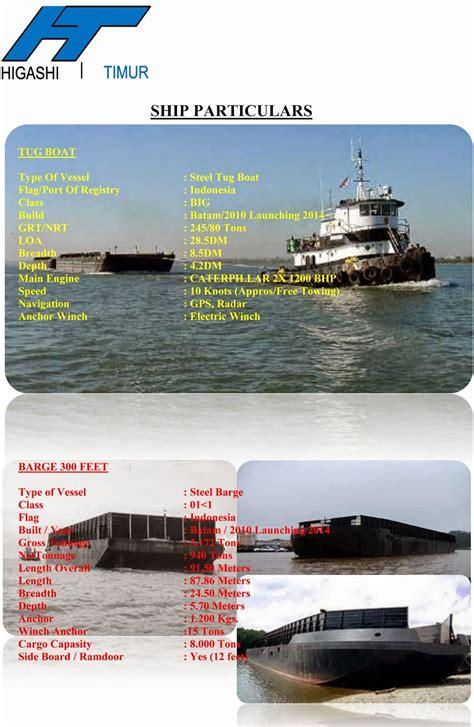 tugboat dijual hendri online shop jual kapal tugboat tongkang