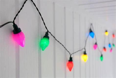 long string christmas lights