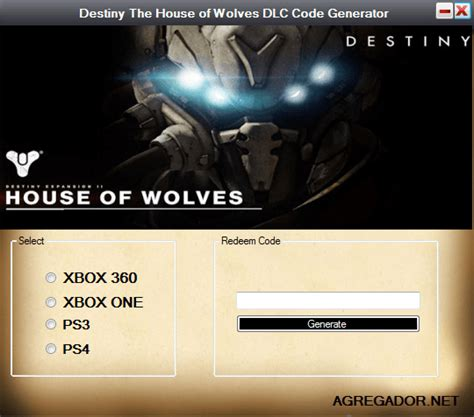 destiny house of wolves dlc destiny the house of wolves dlc code generator agregador