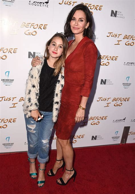 David Arquette Confirms Up Anistons Marriage Mound by Courteney Cox S Coco Is So Grown Up