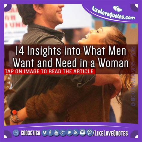 What Men Love In Women Insight Into His Mind | 14 insights into what men want and need in a woman