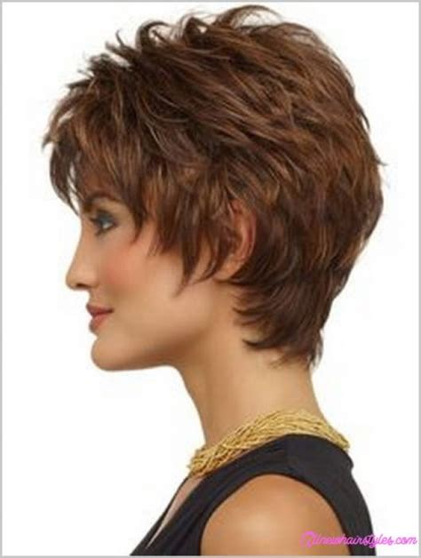 show pictures of the back of a short shag hairstyle show back of short layered haircuts hairstylegalleries com