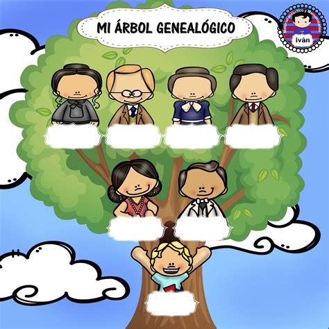 la familia arbol genealogico
