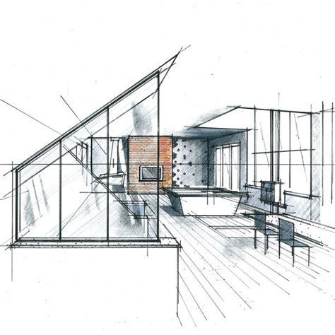 architecte d int ieur chambre 24 best images about perspectives et croquis en