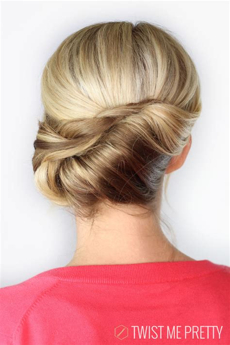 modern french twist how to twisted chignon day 30 twist me pretty