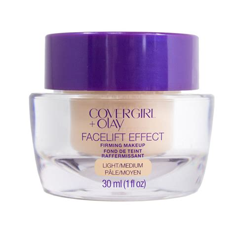 Eyeshadow Olay covergirl olay facelift effect firming makeup foundation