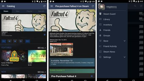 steam for android valve makes big changes to steam app for android nag