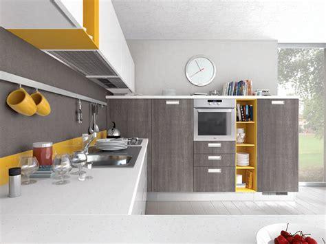 detrazione mobili cucina cucina componibile laccata in legno con maniglie noemi