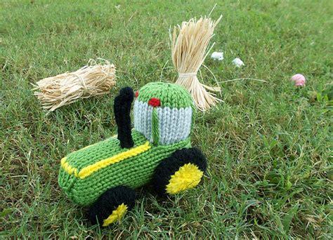 free tractor knitting pattern knitting patterns galore tractor