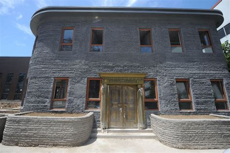 3d printed house first 3d printed house completed in beijing 3 chinadaily com cn