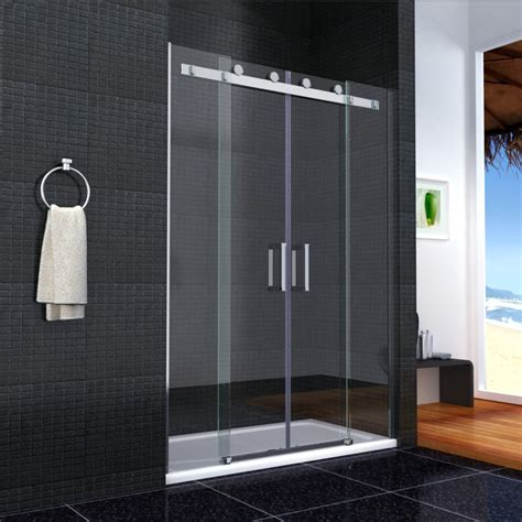 how to install sliding shower doors the home redesign Sliding Doors Shower