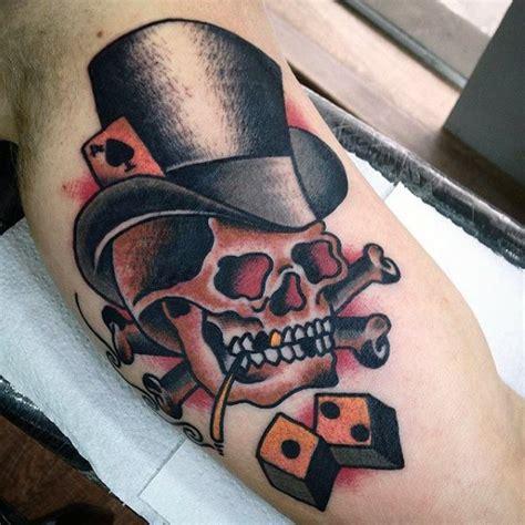 tattoo old school skull 50 traditional skull tattoo designs for men manly ink ideas