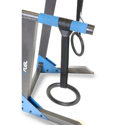 fuel pureformance dip station with rings viking fitness
