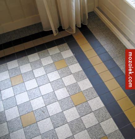 jaren 30 vloer mozaiek utrecht keukenvloer jaren 30 woning hal